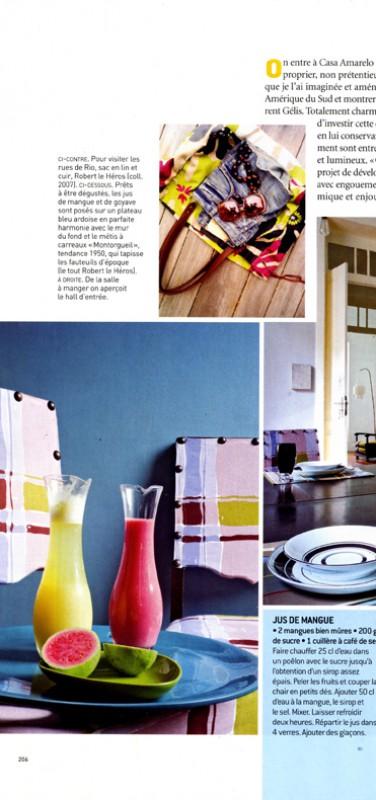 Casa Amarelo - Robert Le Héros - Presse - Maison Française - 3