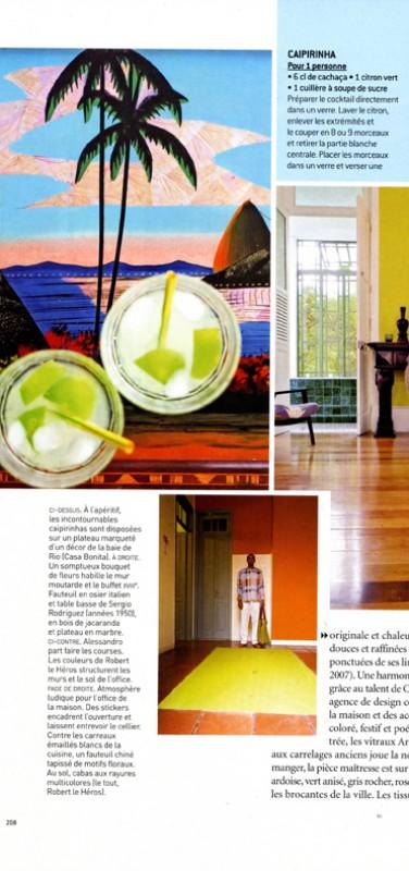 Casa Amarelo - Robert Le Héros - Presse - Maison Française - 5