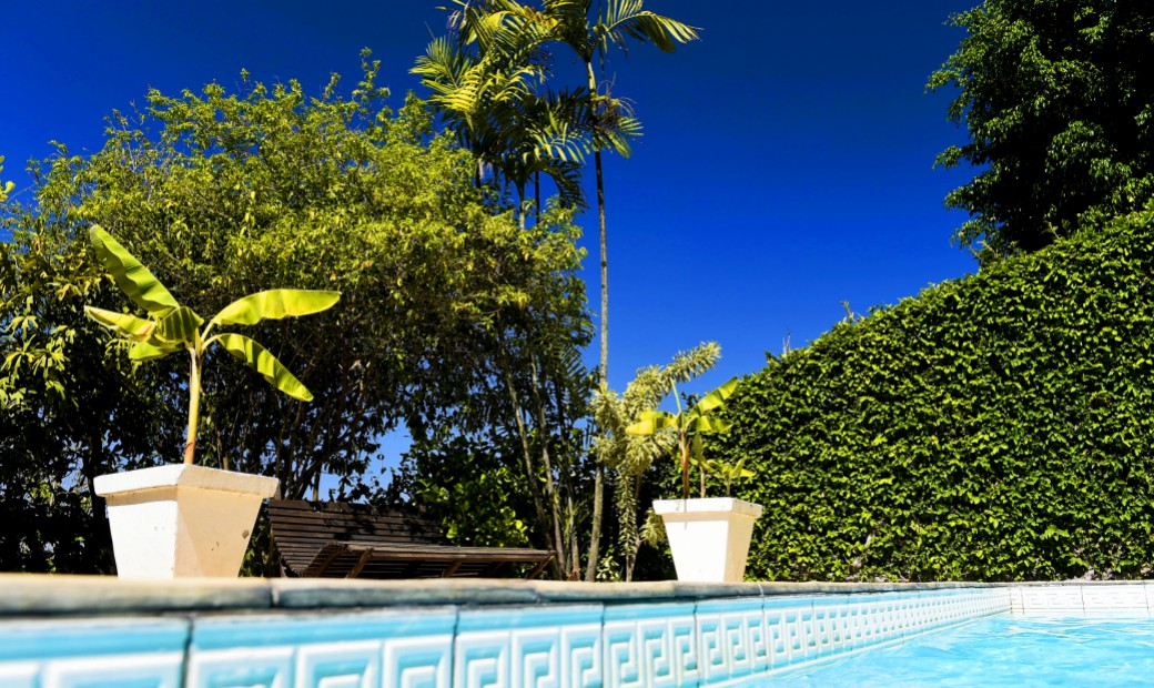 Casa Amarelo - The swimming pool
