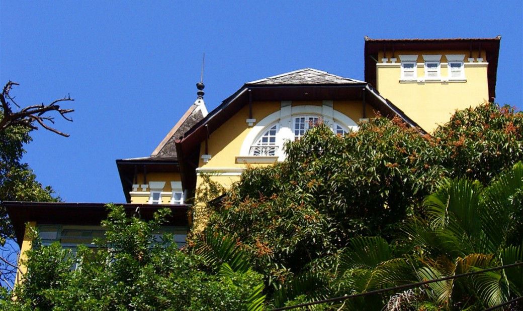 Casa Amarelo - la façade avant