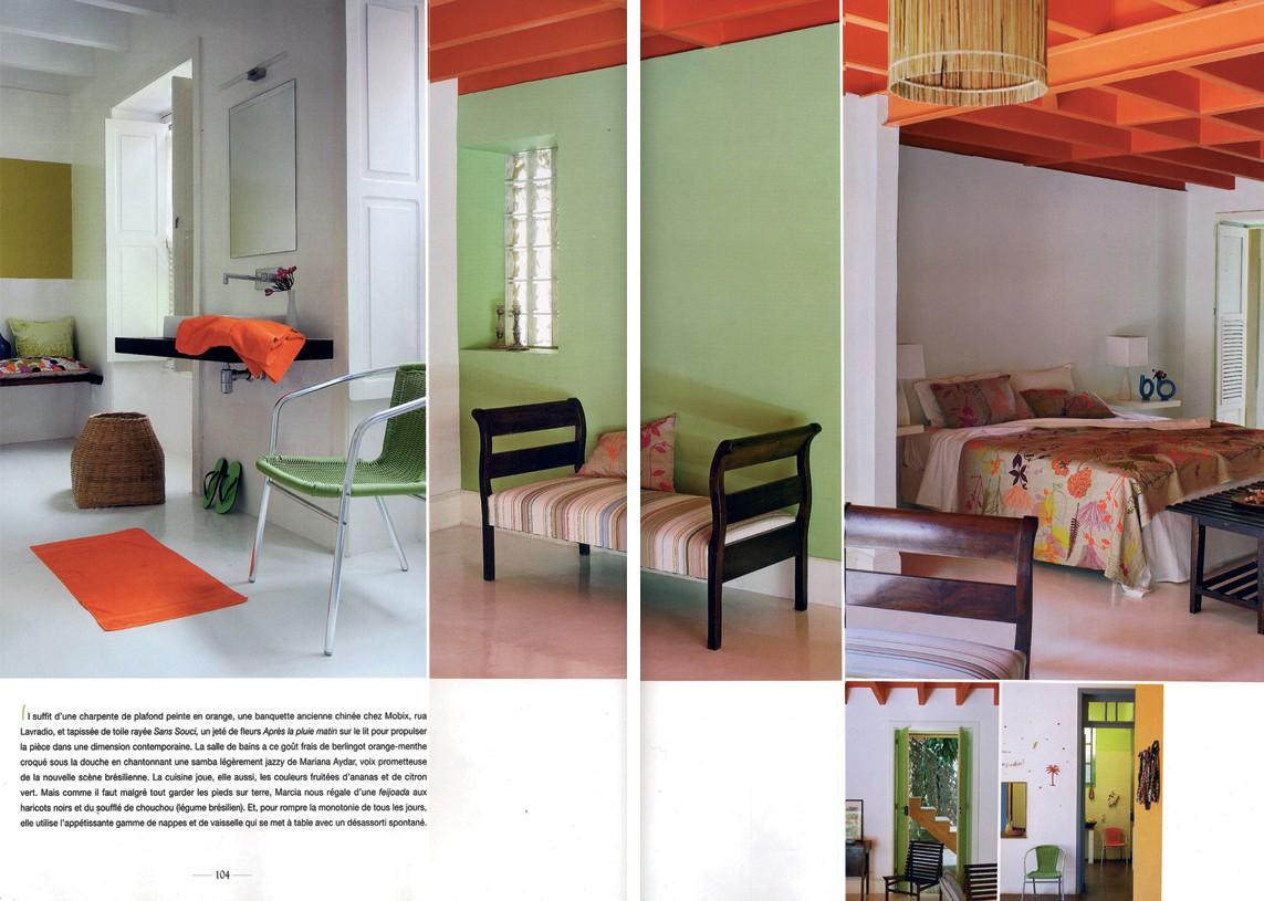 Casa Amarelo - Robert Le Héros - Presse - Coté Sud - 5