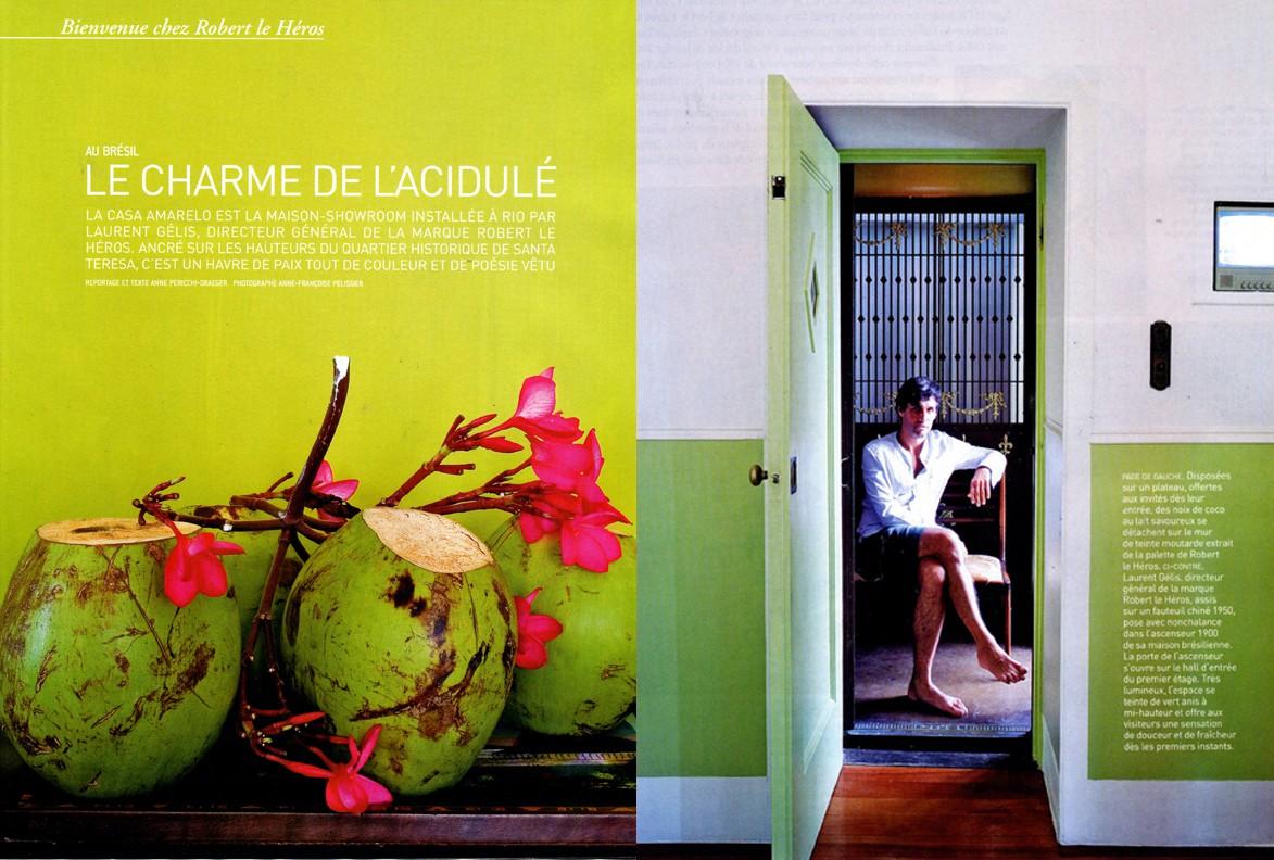 Casa Amarelo - Robert Le Héros - Presse - Maison Française - 1