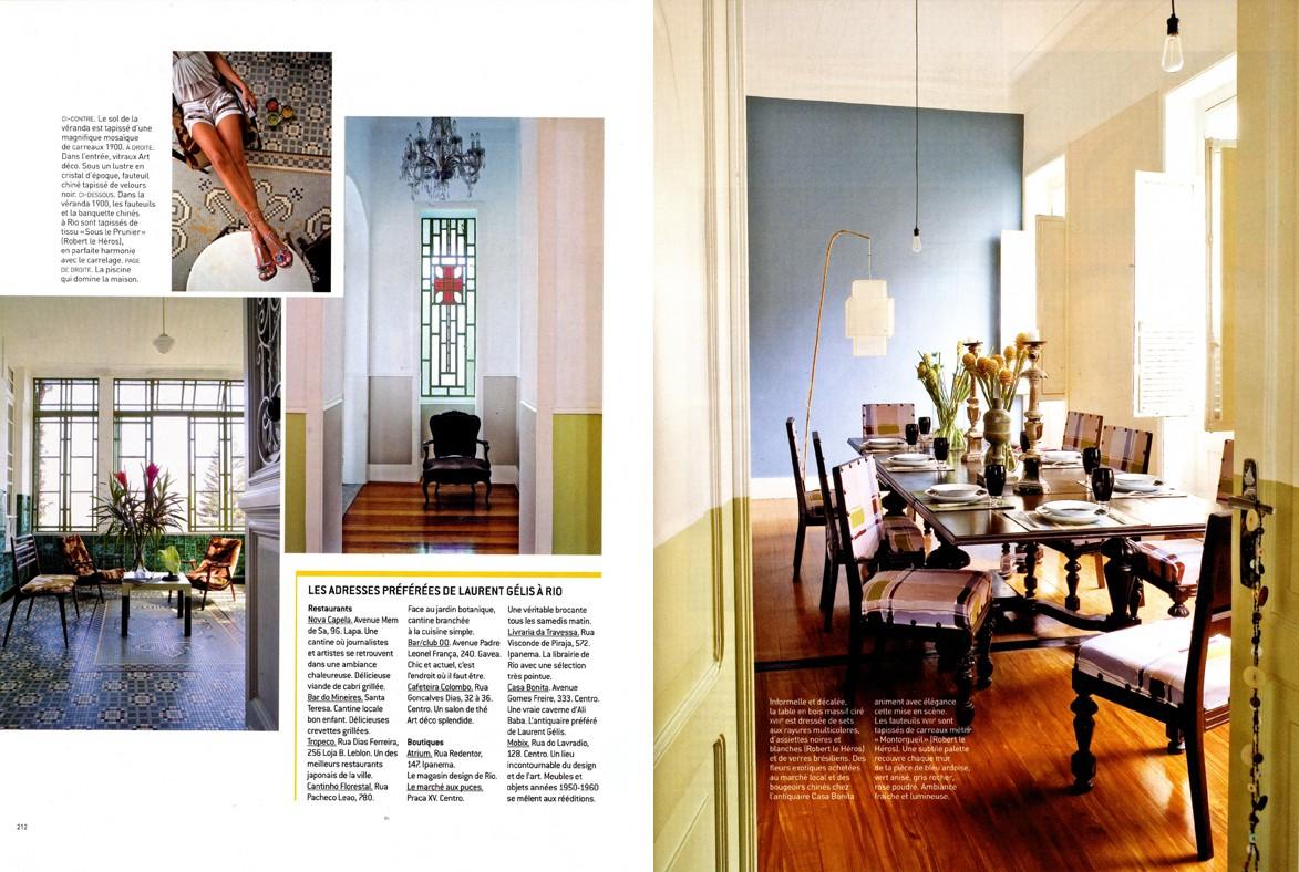 Casa Amarelo - Robert Le Héros - Presse - Maison Française - 2